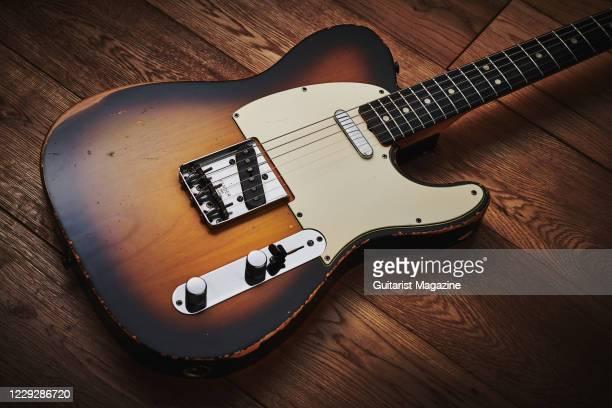 Vintage 1966 Fender Telecaster electric guitar, taken on November 19, 2019.