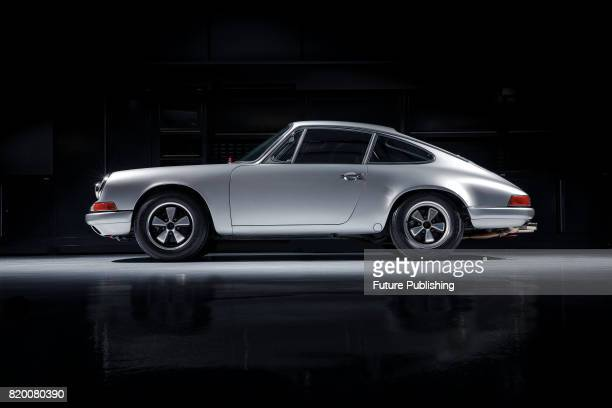 A vintage 1968 Porsche 911 T/R sports car taken on December 21 2016