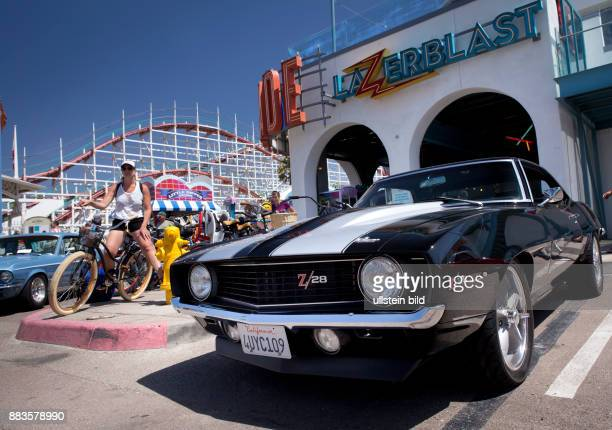 Vintage 1969 Chevrolet Camaro at Belmont Parks Fathers Day Car Show in Mission Beach