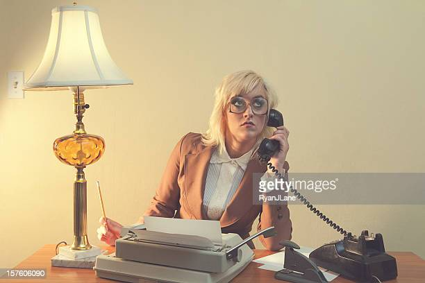 Vintage 1970's Secretary