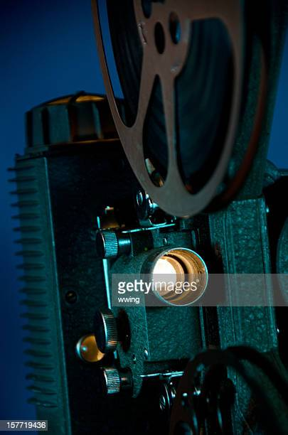 Vintage 8mm Movie  Projector Front View