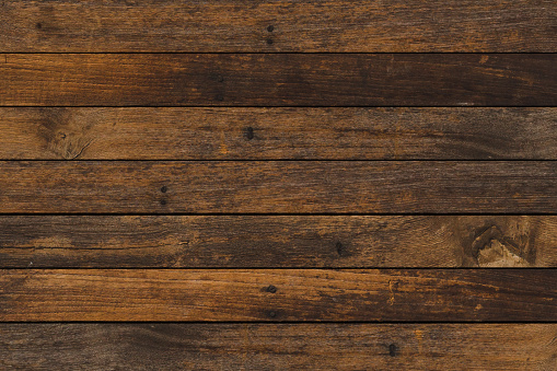 vintage aged dark brown color wooden stripe backgrounds texture for design as presentation,promote product,photo montage,banner,ads and web 1134005094