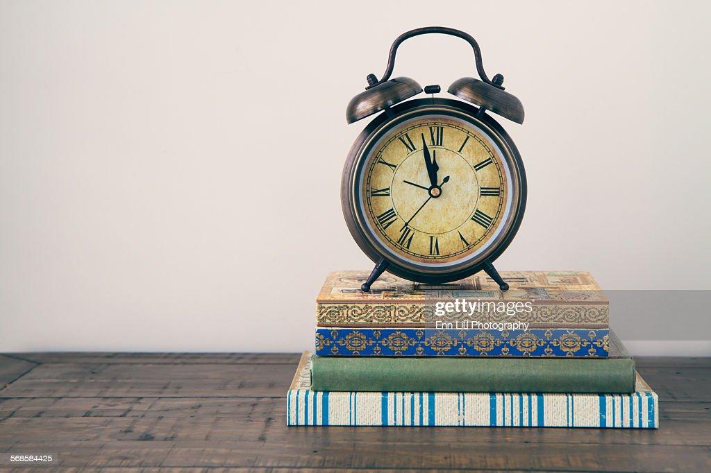 Vintage Alarm Clock : Stock Photo