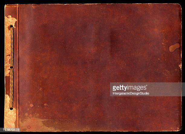 vintage album cover - photo album stock photos and pictures