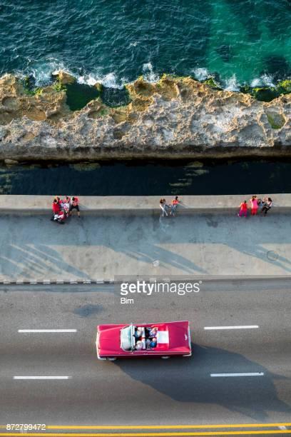 Amerikanische Oldtimer Havanna, Kuba