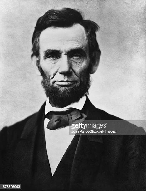 Vintage American Civil War photo of President Abraham Lincoln.