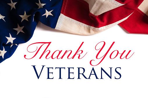 Vintage American Flag for Veterans day 627740832