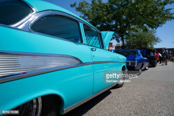 Vintage and Classic cars on Display at Carshow in Philadelphia