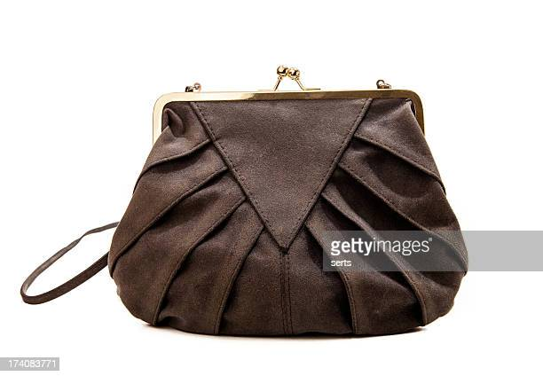 vintage bag - leather purse stock pictures, royalty-free photos & images