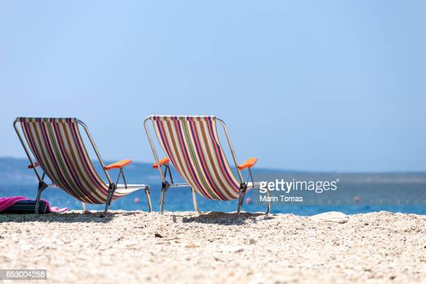 Vintage beach chairs
