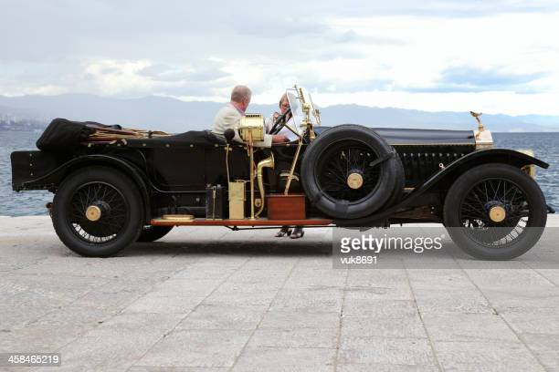 vintage beauty - 1920 car stock photos and pictures