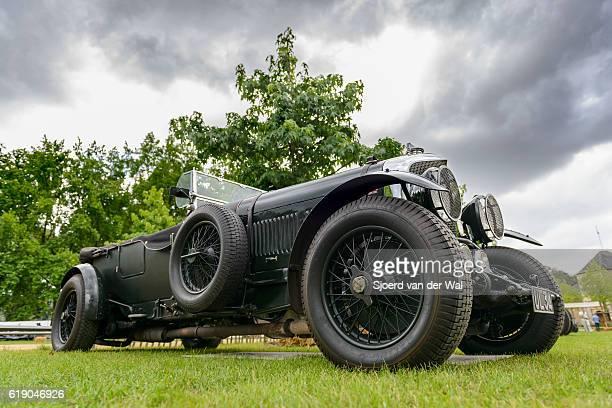 "vintage bentley 6 1/2 litre english classic car - ""sjoerd van der wal"" fotografías e imágenes de stock"