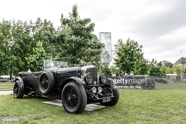 "vintage bentley 6 1/2 litre speed six tourer british classic - ""sjoerd van der wal"" stock pictures, royalty-free photos & images"