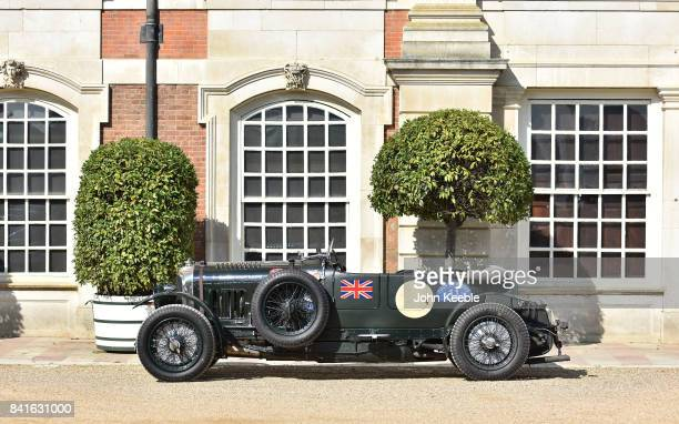 A vintage Bentley at the Concours of Elegance at Hampton Court Palace on September 1 2017 in London England The show brings together a selection of...
