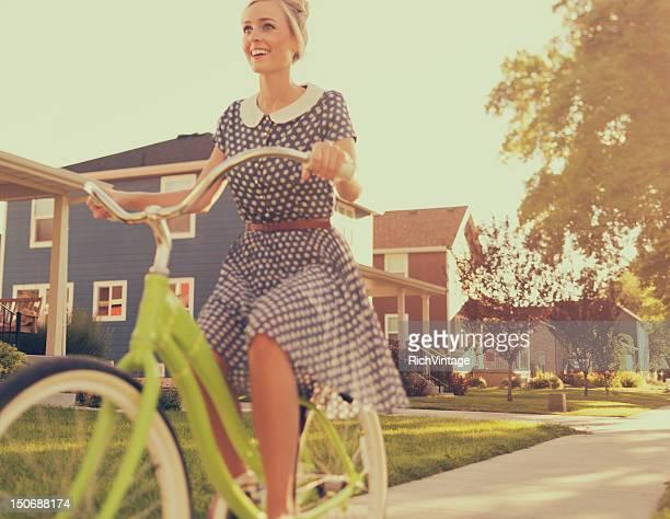 En vélo Vintage
