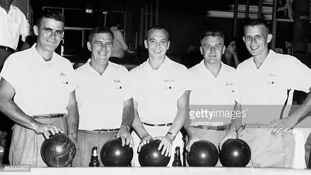 Vintage bowling team