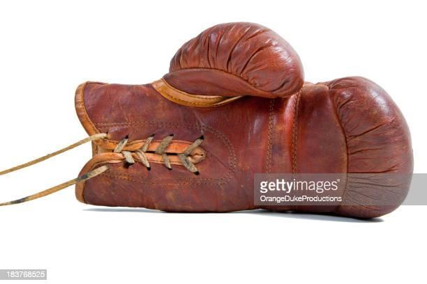 Boxe gant photos et images de collection getty images - Gants de boxe vintage ...