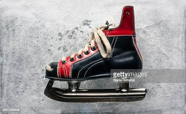 Vintage Boys Ice Hockey Skate
