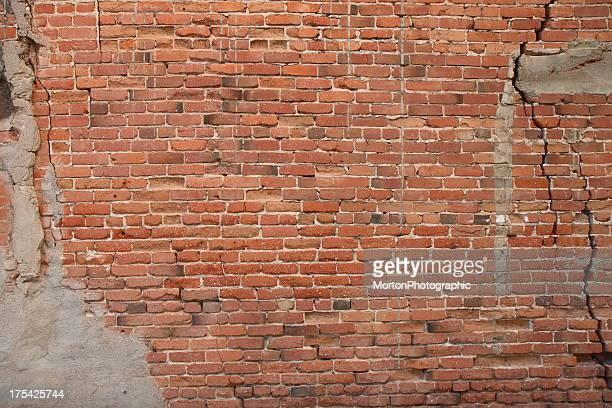 Ziegel Wand Hintergrund im Vintage -