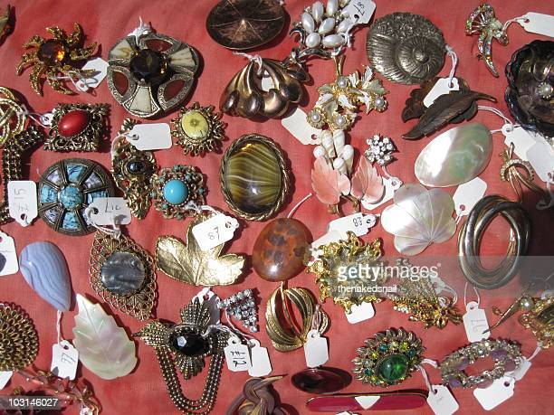 vintage brooches - brooch stock pictures, royalty-free photos & images