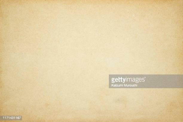 vintage brown paper background - 古い ストックフォトと画像