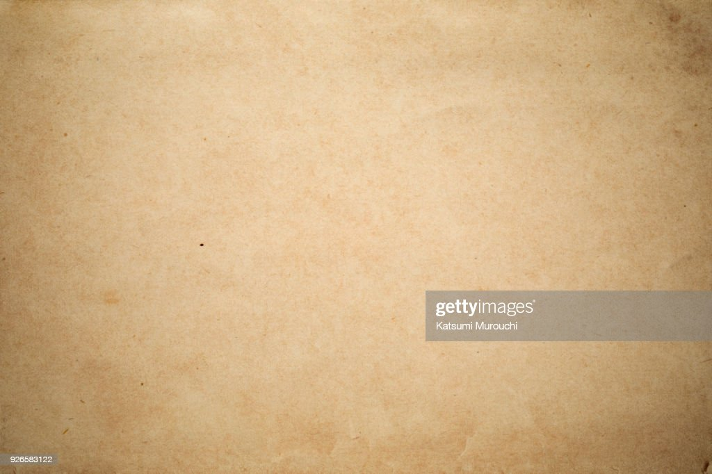 Vintage brown paper texture background : Stock Photo