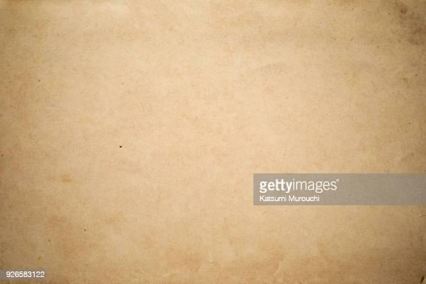 vintage brown paper texture background - 古い ストックフォトと画像