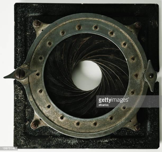 Vintage camera iris