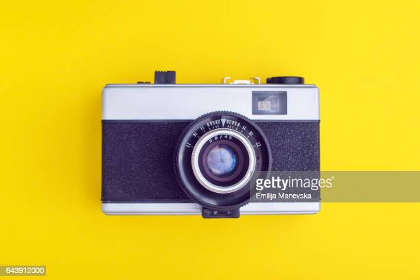 vintage camera - man made object stock pictures, royalty-free photos & images