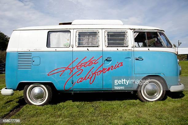 Vintage camping Auto