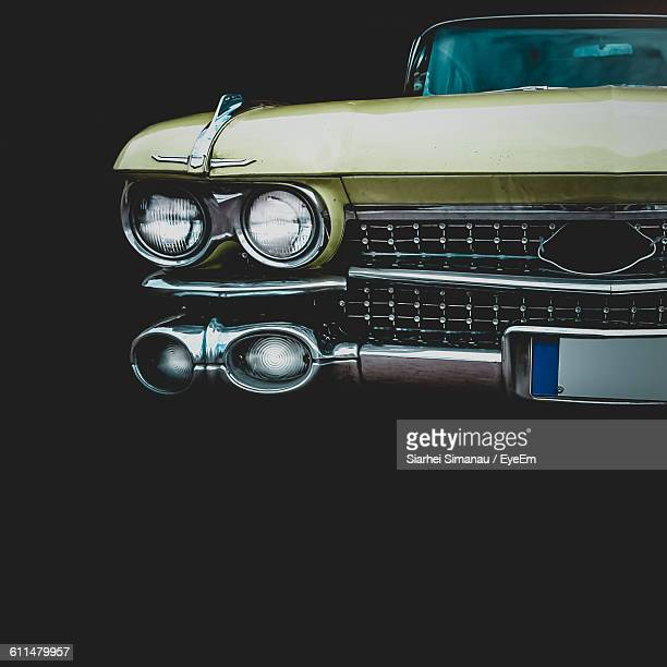 vintage car against black background - vintage car stock pictures, royalty-free photos & images