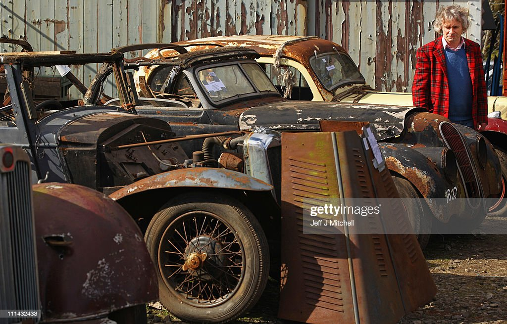 Extremely Rare Vintage Vehicles Are Put Up For Auction In Glamis ...