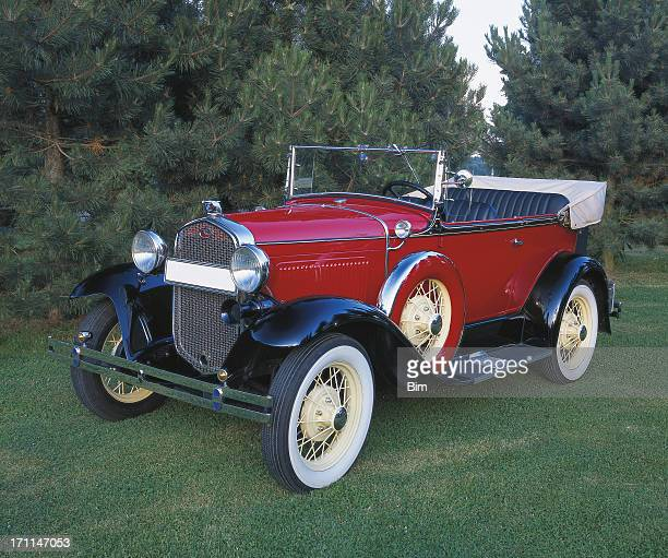 ヴィンテージカーフォード 180 デリュクス、1931 - 1931年 ストックフォトと画像