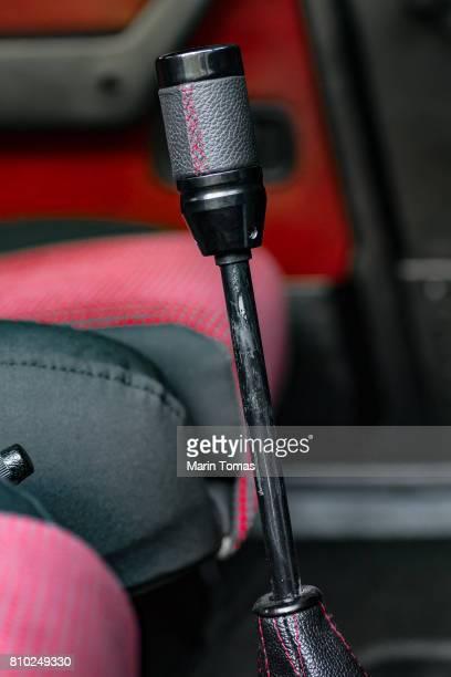 Vintage car gearbox lever