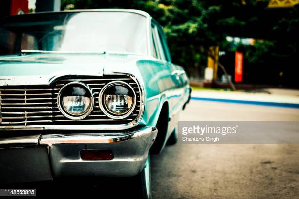 vintage car - automobile da collezionista foto e immagini stock