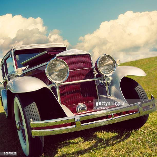 vintage car - 1920 car stock photos and pictures