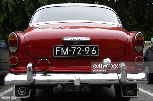 vintage car - volvo stock pictures, royalty-free photos & images
