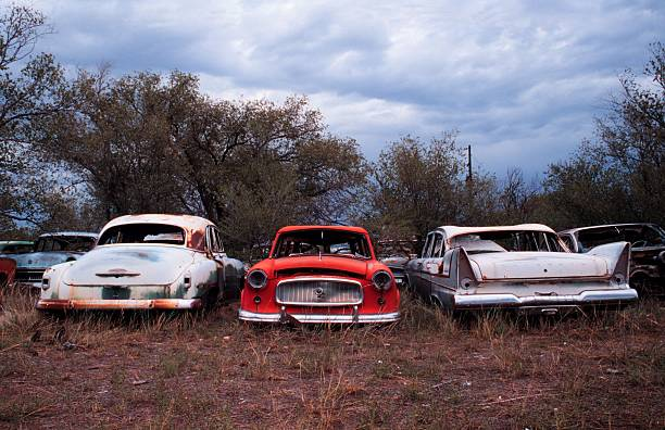 Vintage Cars Abandoned In New Mexico