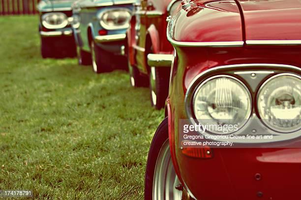 vintage cars - gregoria gregoriou crowe fine art and creative photography. stock-fotos und bilder