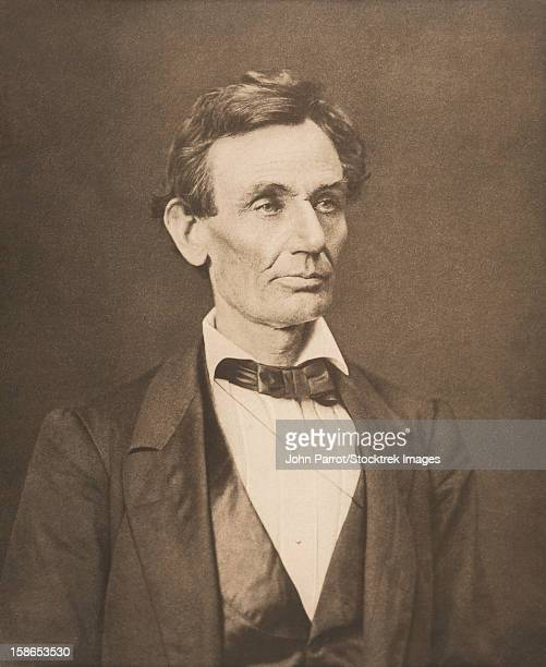 Vintage Civil War photo of President Abraham Lincoln.
