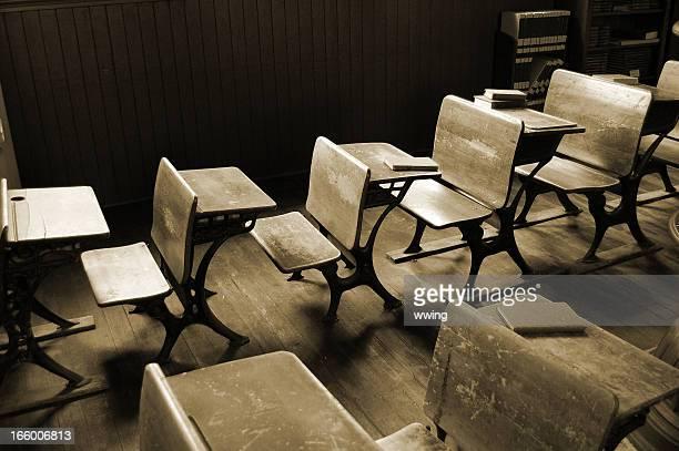 Vintage  Classroom in Sepia