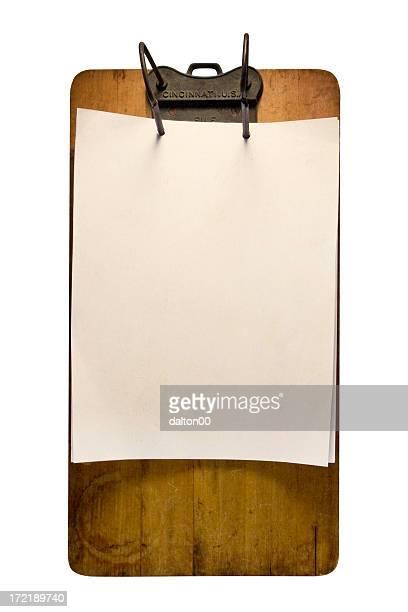 Vintage portapapeles