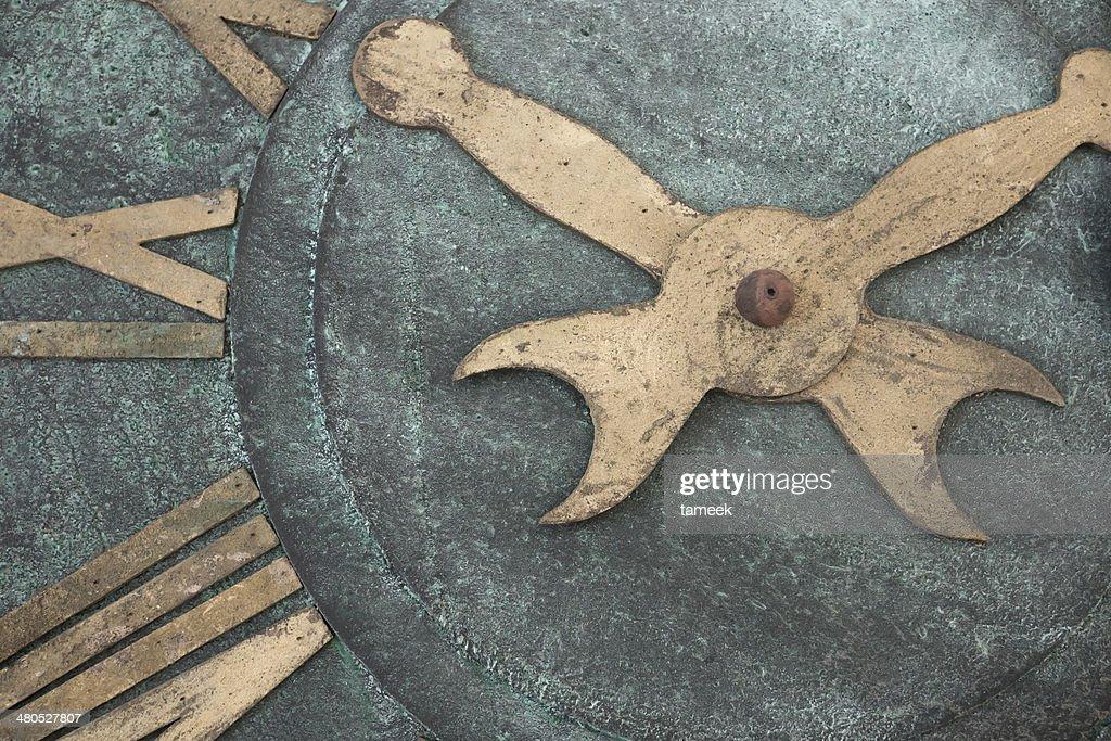 Vintage clock : Bildbanksbilder