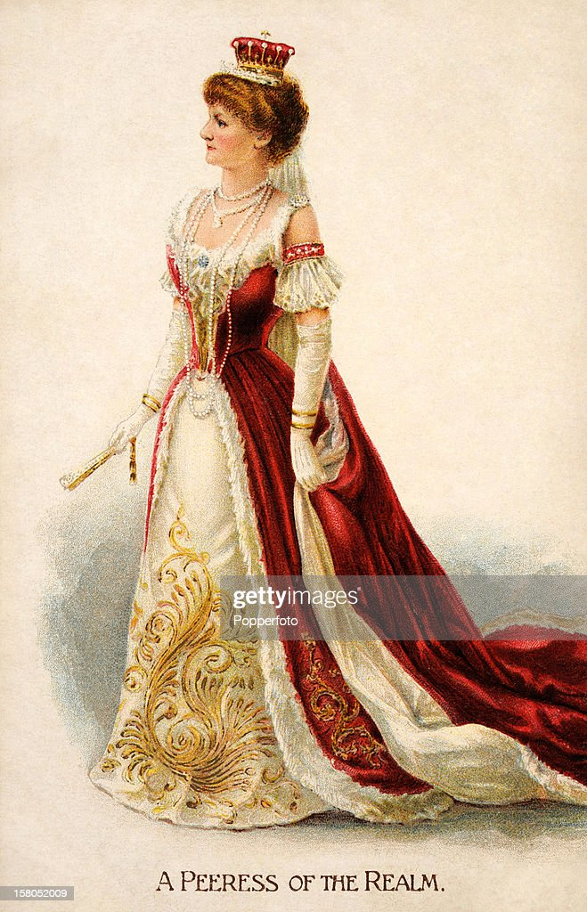 Peeress Of The Realm - Coronation Of King Edward VII : News Photo