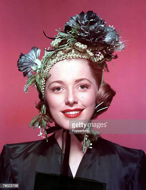 A portrait of the American actress Eleanor Parker