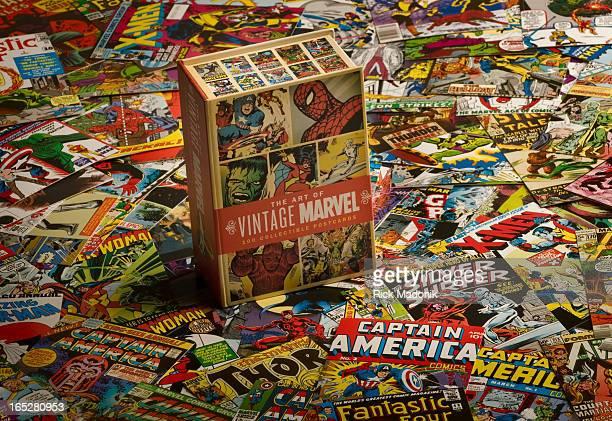 12/16/09 TORONTO ONTARIO Vintage comic book covers as postcards for derick chettyRick Madonik/Toronto Star