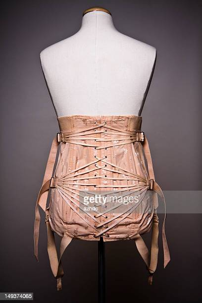 vintage corset - corset stock pictures, royalty-free photos & images