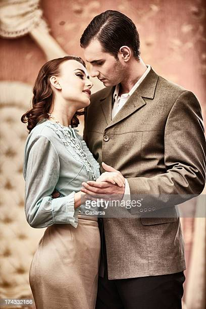 Vintage pareja
