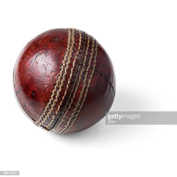 vintage cricket ball - cricket ball stock pictures, royalty-free photos & images
