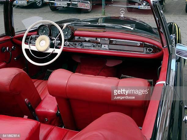 Vintage-dashboard deutschen Mercedes-Benz